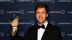 Sebastian Vettel - Laureus Award 2014