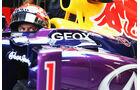 Sebastian Vettel - Red Bull - Formel 1 - GP Italien - Monza - 6. September 2013