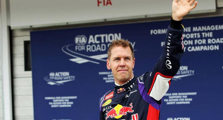 Sebastian Vettel - Red Bull - Formel 1 - GP Ungarn - 26. Juli 2014