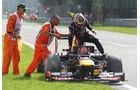 Sebastian Vettel Red Bull GP Italien 2012
