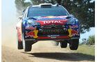 Sebastien Ogier WRC Rallye Sardinien 2011