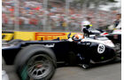 Senna Williams GP Brasilien 2012
