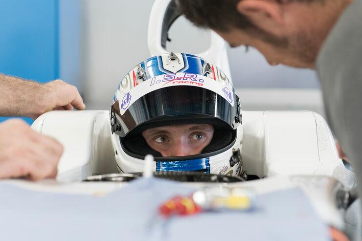 Sergey Sirotkin - Sauber Sitzanpassung 2013
