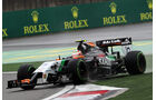 Sergio Perez - Force India - Formel 1 - GP China - Shanghai - 19. April 2014