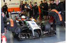 Sergio Perez - Force India - Formel 1 - Test - Jerez - 29. Januar 2014