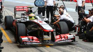 Sergio Perez - McLaren - Formel 1 - GP Spanien - 10. Mai 2013