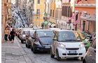 Smart Fortwo ED, Rom, Stau