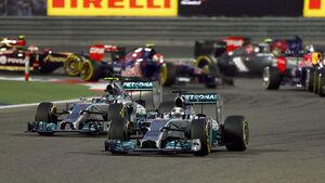 Start - GP Bahrain 2014