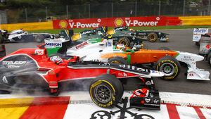 Start GP Belgien 2011