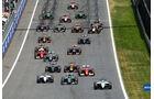 Start - GP Österreich 2014