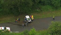 Stephane Lefebvre - Crash - Screenshot - Rallye Deutschland 2016