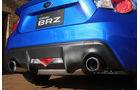 Subaru BRZ, Endrohr, Auspuff