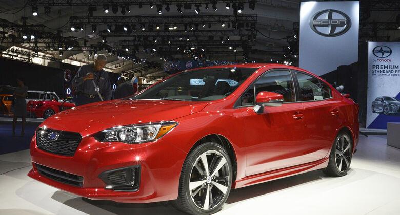 Subaru Impreza 2016 Sedan, Seite