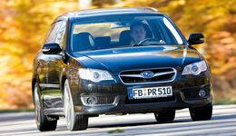 Subaru Legacy, Frontansicht