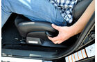 Subaru WRX STi, Sitzeinstellung