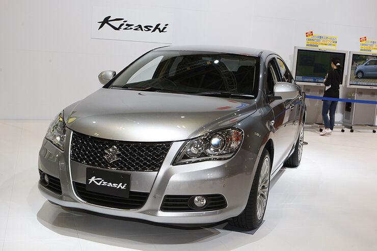 Suzuki kizashi neues mittelklassemodell startet in den usa auto motor und sport