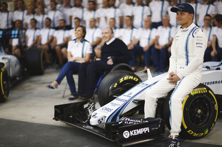Teamfoto - Williams - Formel 1 - 2015