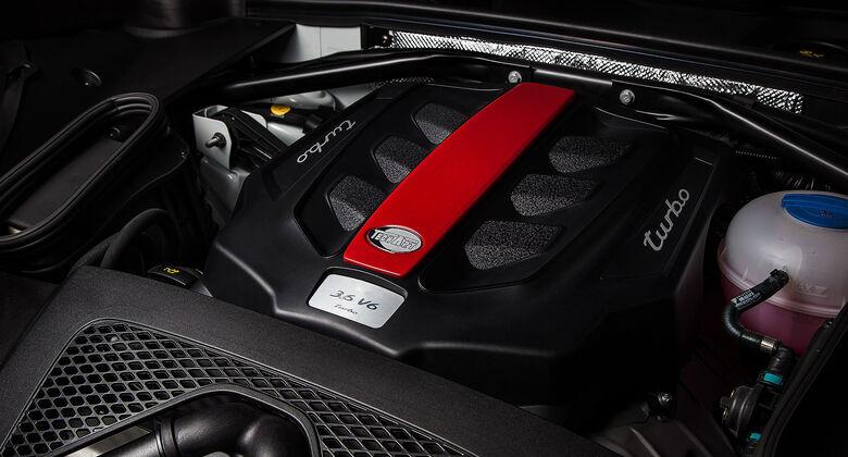Techart Macan Turbo Motor
