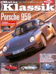 Titel Motor Klassik, Heft 12/2002