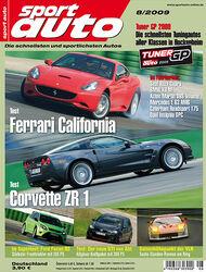 Titel Sport Auto, Heft 08/2009