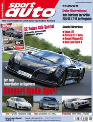 Titel Sport Auto, Heft 11/2009