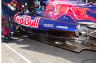 Toro Rosso Auspuff GP Spanien 2012