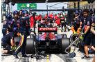 Toro Rosso - Boxenstopp - Formel 1 - 2015