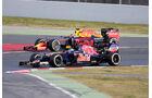 Toro Rosso & Red Bull - Barcelona - Formel 1-Test - 1. März 2016