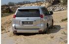 Toyota Landcruiser 3.0 D-4D, Heckansicht