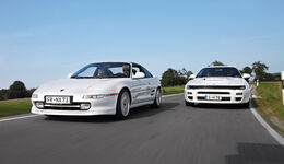 Toyota MR2 Turbo, Toyota Celica Turbo 4WD Carlos Sainz, Front