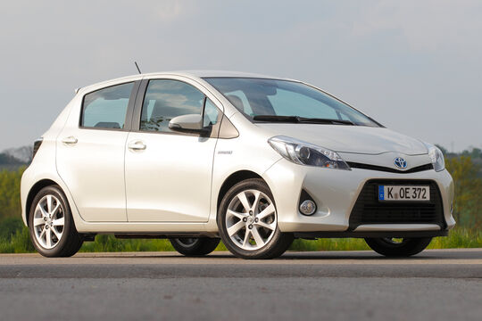 Toyota Yaris Hybrid, ams1213-supp, Impressionen