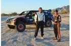 Trophy Truck, Seitenansicht, Piloten