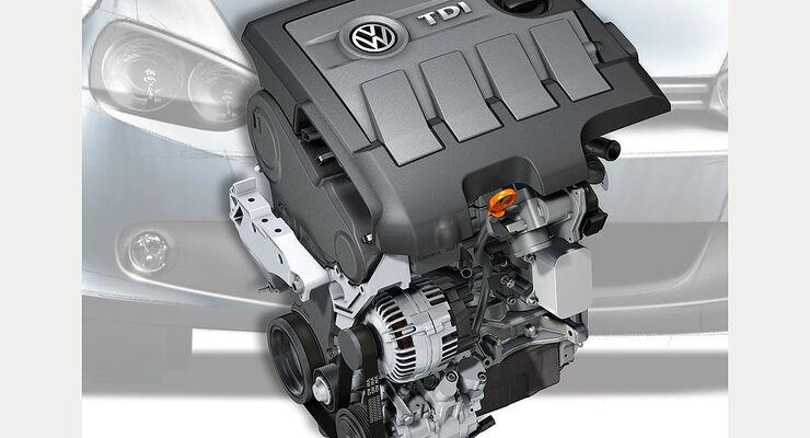VW 1.6 TDI-Motor