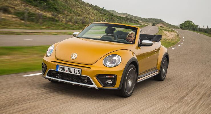 vw beetle dune cabrio fahrbericht auto motor und sport. Black Bedroom Furniture Sets. Home Design Ideas