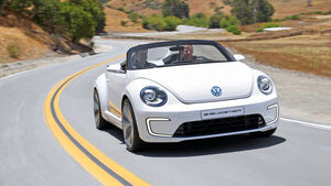 VW E-Bugster, Frontansicht