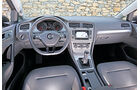 VW Golf 1.6 TDI, Cockpit