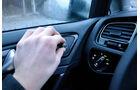 VW Golf VII, Innenraum, Spiegeleinstellung