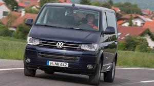 VW Multivan 2.0 BiTDI BMT, Frontansicht