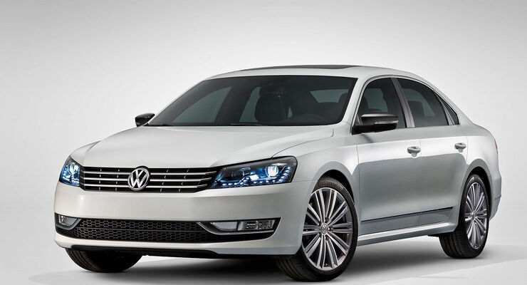 VW PASSAT PERFORMANCE CONCEPT USA