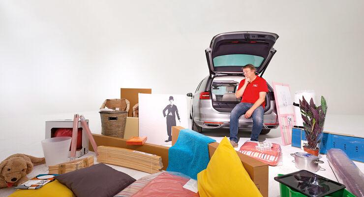 VW Passat, Raumangebot, Beladung