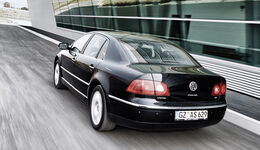 VW Phaeton V10 TDI Motion, Heckansicht