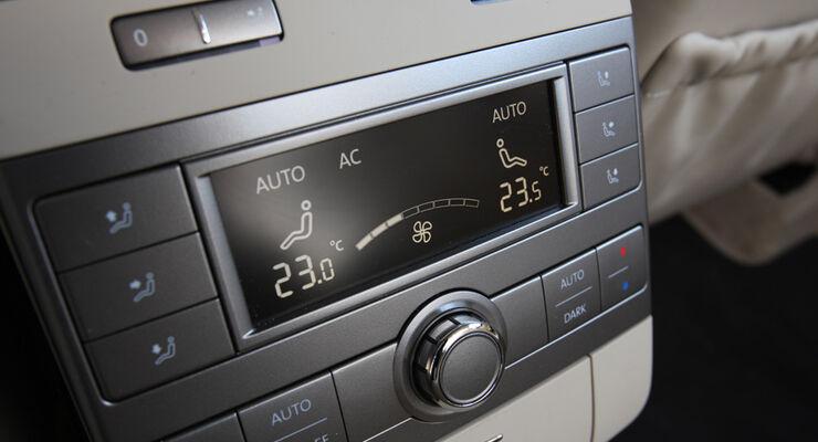 VW Phaeton V6 TDI, Klimaanlage