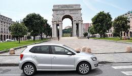 VW Polo 1.2 TSI, Seitenansicht