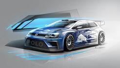 VW Polo WRC 2017, Concept, Volkswagen Motorsport, 04/2016