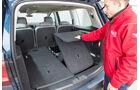 VW Sharan 1.4 TSI, Kofferraum, Sitze umklappen