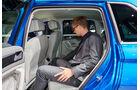 VW Tiguan Sitzprobe