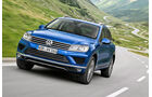 VW Touareg 3.0 V6 TDI SCR BMT, Frontansicht