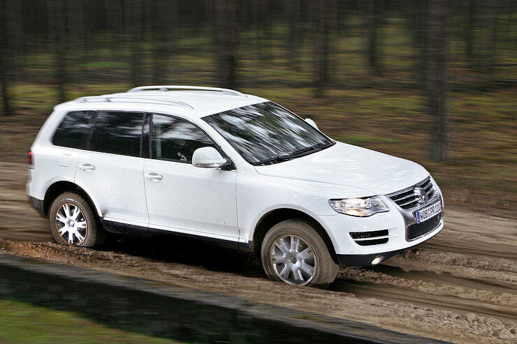 vw touareg 3 0 v6 tdi im supertest auto motor und sport. Black Bedroom Furniture Sets. Home Design Ideas