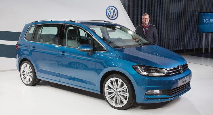 VW Touran Sitzprobe