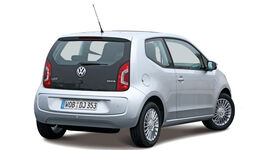 VW Up! CNG, Heck